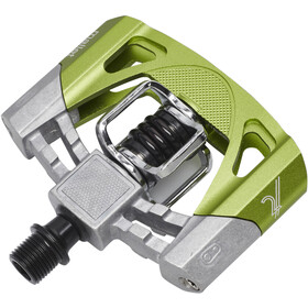 Crankbrothers Mallet 2 Pedals raw green